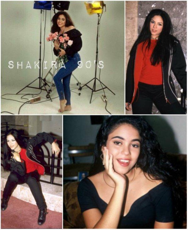 Shakira dans les années 90