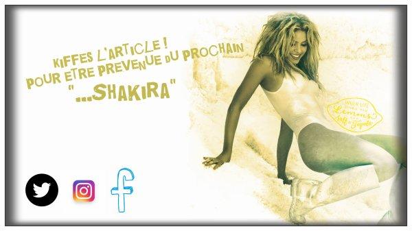 Interview de Shakira à Madrid