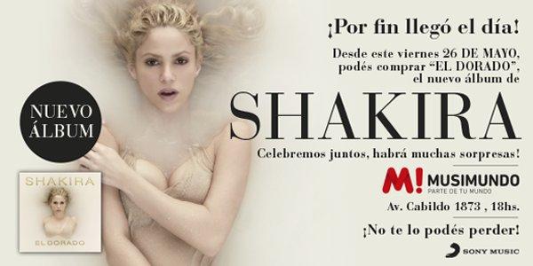 """Lancement du nouvel album de Shakira """"El Dorado"""" à Miami (le 26/05/2017)"""