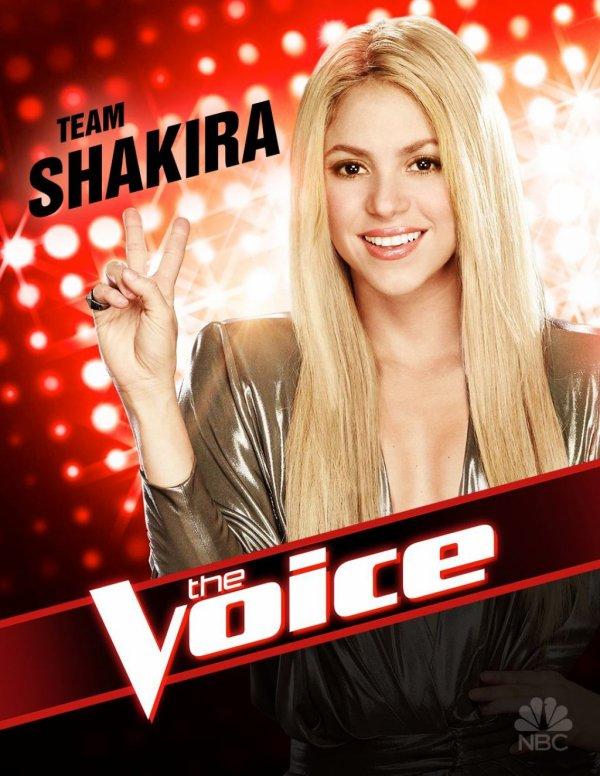 The Voice TF1 : Shakira sera présente sur le plateau français !
