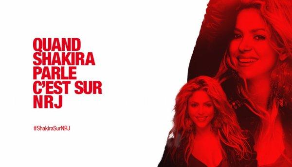 Shakira sera présente chez Cauet sur NRJ