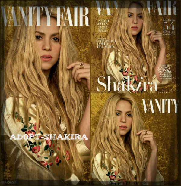 "Interview + photoshoot pour le magazine italien ""Vanity Fair"" (édition Juin 2017)"