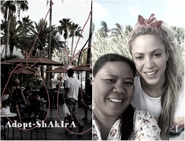 Shakira prend des vacances avec Piqué et ses enfants (le 16/06/2017)