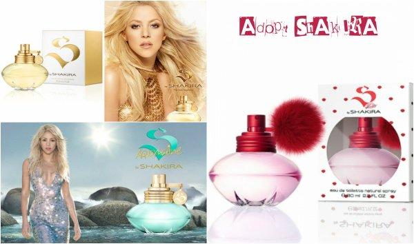 """Nouvelle édition de la gamme """"Dance"""" de Shakira !"""