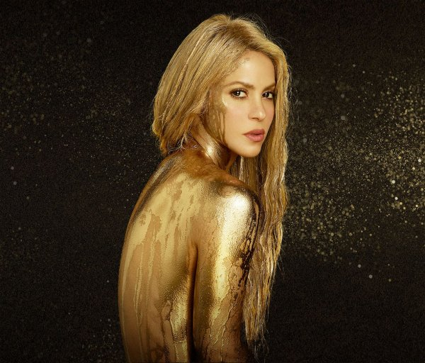 "Photos promotionnelles de Shakira pour ""El Dorado World Tour""  (le 28/06/2017)"