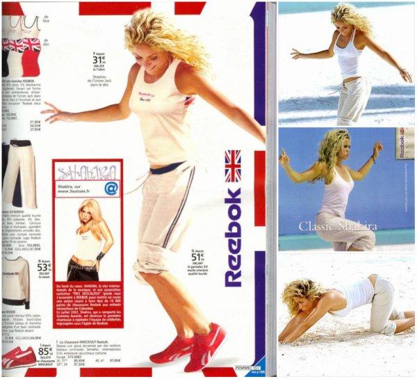 """Campagne publicitaire pour la marque """"Reebok"""""""