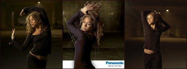 Campagne publicitaire pour Panasonic (2005-2006)