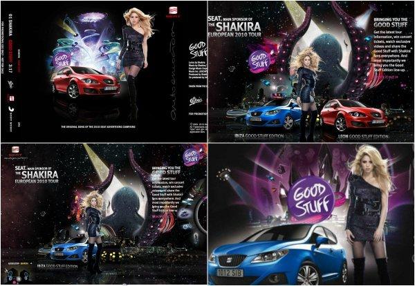 """Campagne publicitaire pour la marque """"Seat"""" (2009-2010)"""