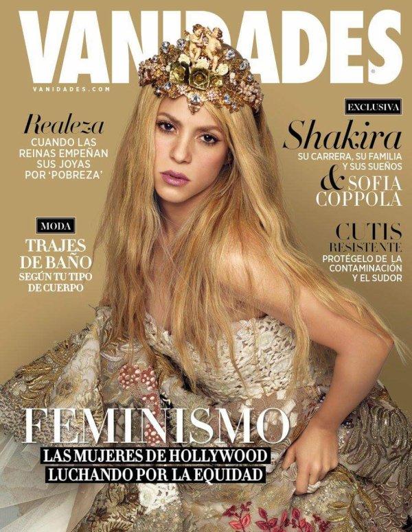 "Photos en HD du photoshoot pour le magazine mexicain ""Vanidades"" (édition Août 2017)"