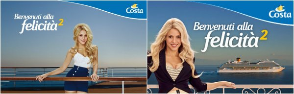 Campagne publicitaire pour Costa Croisières (2015-2017)
