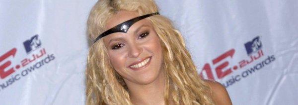 Pas de nominations pour Shakira aux MTX Vidéos Music Awards...