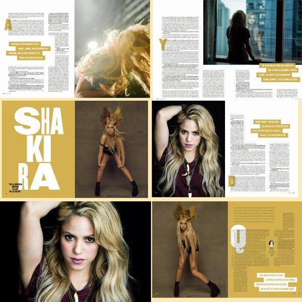 """Journal du """"NY Times"""" : De nouvelles photos inédites de Shakira (le 01/08/2017)"""
