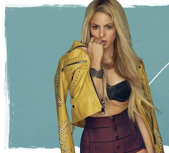 """Shakira à la une pour le magazine """"Cosmopolitan"""" (Août 2017)"""