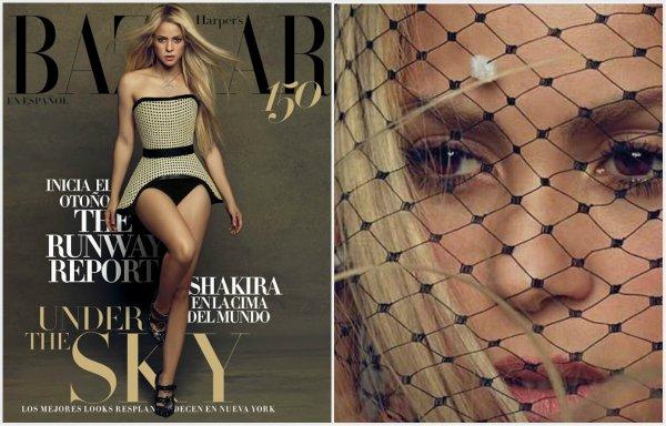 Shakira en couverture pour un magazine mexicain (édition Août 2017)