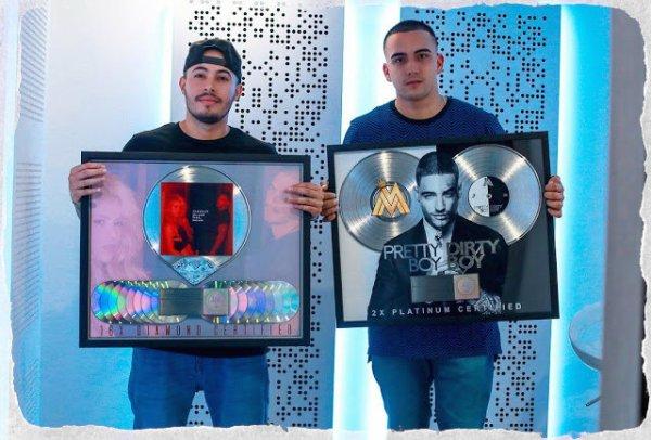 """""""Chantaje"""" : Seize fois disque de platine aux Etats-Unis ! (le 13/08/2017)"""