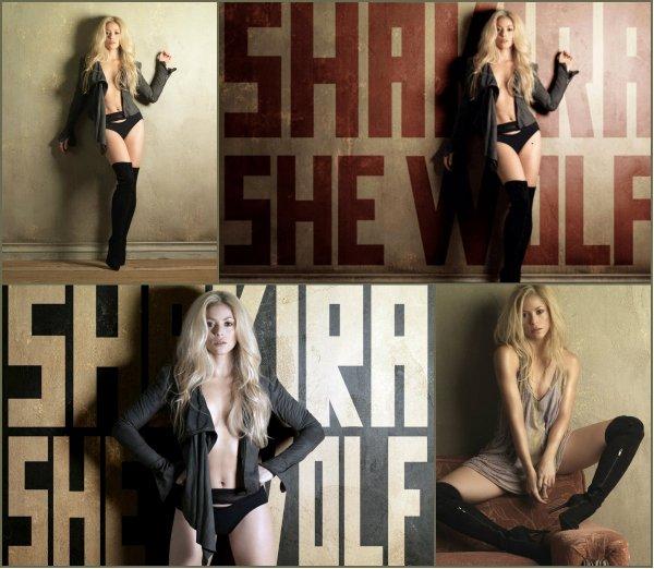 """Photoshoot de l'album """"She Wolf/Loba"""" en 2009 (le 05/09/2017)"""