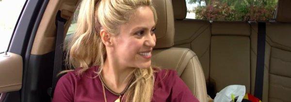 """Shakira dans """"Carpool Karaoké The Series""""  pour le 12 Septembre (le 09/09/2017)"""