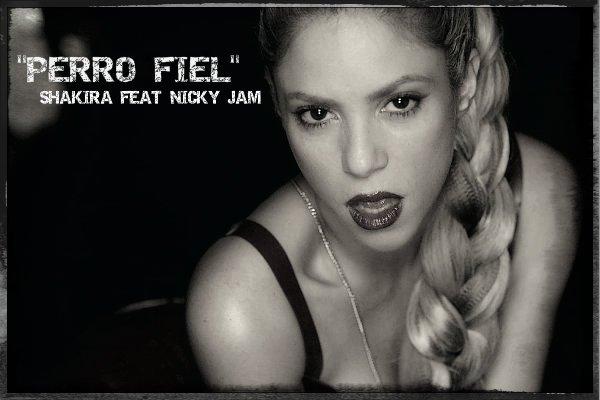 """Clip de """"Perro Fiel"""" : Shakira, brûlante et malicieuse, enivre Nicky Jam (le 16/09/2017)"""