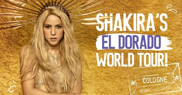 """Nouvelles photos promotionelles pour """"L'El Dorado World Tour"""" (le 02/11/2017)"""