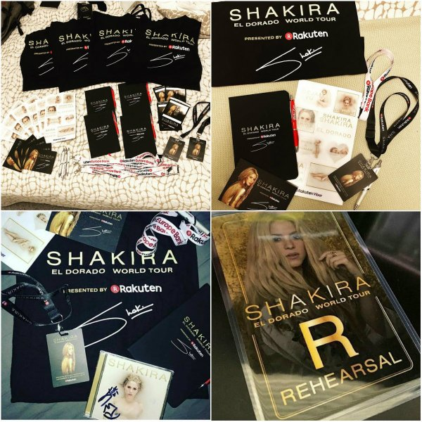 """Shakira nous présente son """"El Dorado World Tour"""" (le 06/11/2017)"""