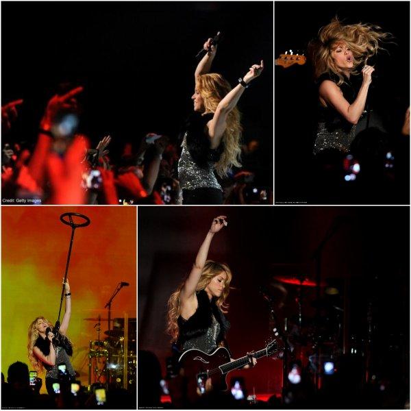 """Performance lors de la soirée de lancement du nouvel l'album """"Shakira"""" à Los Angeles (Californie) le 24/03/2017 avec IHeartradio et Target (le 12/11/2017)"""