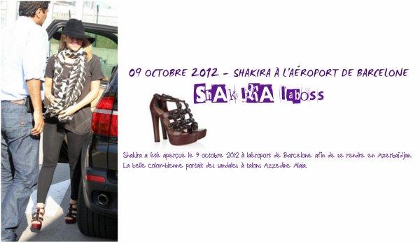 Shakira rend hommage au couturier Azzedine Alaia (le 23/11/2017)