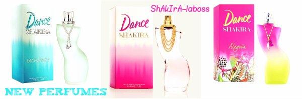 """""""Dance Alegria"""" : Le nouveau parfum de Shakira (le 10/02/2018)."""