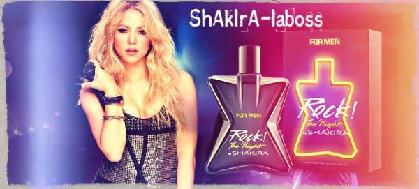 """""""Rock The Night For Men"""" le premier parfum pour hommes de Shakira ! (le 13/02/2018)"""