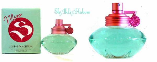 """""""Miss S by Shakira"""" : Nouveau parfum de la gamme """"S by Shakira"""" (le 27/02/2018)."""