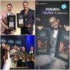 """Les chansons """"Chantaje"""" et """"Déjà Vu"""" ont été récompensées aux """"Premios ASCAP"""" en Californie  (le 13/03/2018)"""