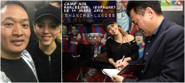 Shakira a repris l'entrainement ! (le 25/03/2018).