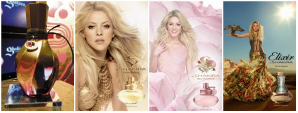 """Dream You Only Live Once"", la nouvelle fragrance de Shakira. (le 10/04/2018)."
