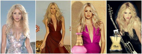 """""""Dream You Only Live Once"""", la nouvelle fragrance de Shakira. (le 10/04/2018)."""