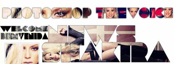 """Photos promotionnelles pour le nouveau parfum """"S Kiss by Shakira"""" (le 12/04/2018)."""