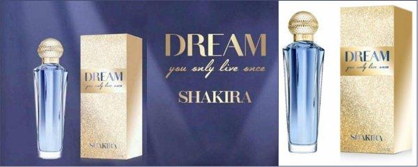 """""""Dream You Only Live Once"""" by Shakira : Description et photos (le 12/04/2018)."""