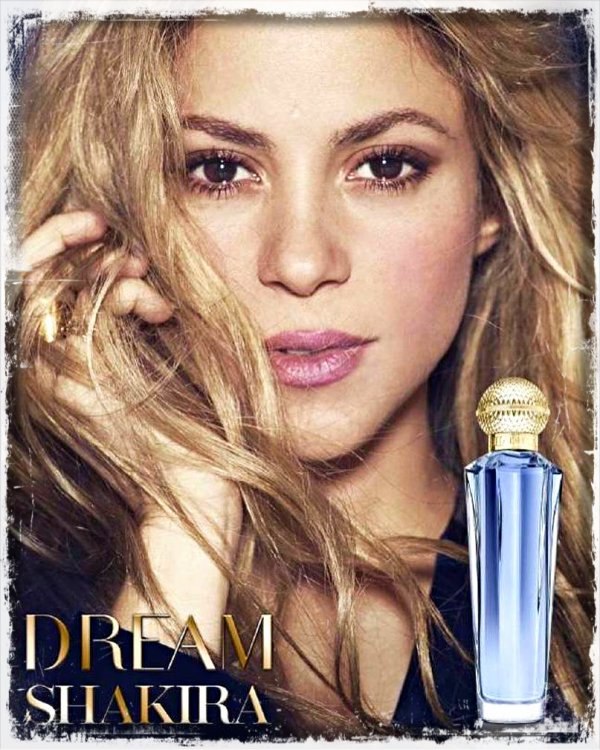 """Dream You Only Live Once""by Shakira : Nouvelles photos (le 20/04/2018)."