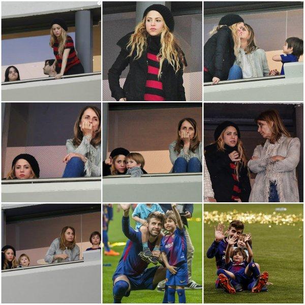 """Shakira au restaurant """"Portobello"""" à Madrid (le 26/04/2018)."""