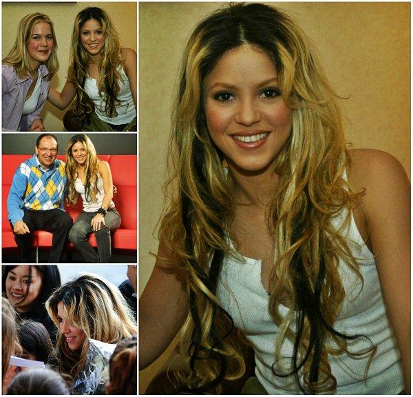 Shakira dans un centre équestre à Scottsdale, en Arizona (Etats-Unis) le 04 Février 2003.