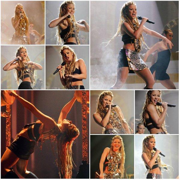 Performance de Shakira aux MTV EMA 2009 (le 12/05/2018).