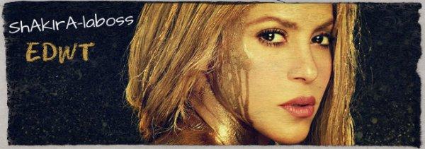 """Shakira nous ouvre les portes de ses répétitions pour """"l'EDWT"""" (le 20/05/2017)."""