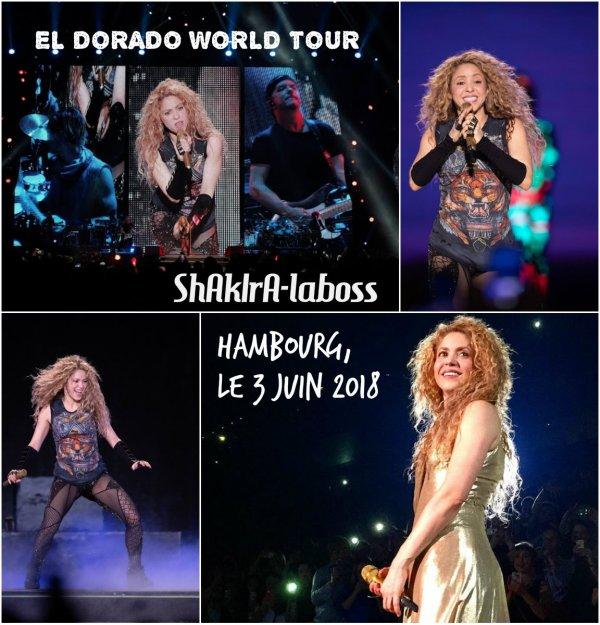Shakira: son «El Dorado World Tour» est lancé ! (le 04/06/2018).