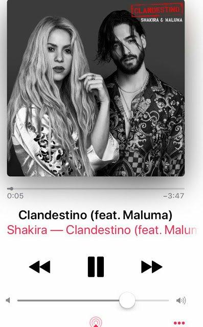 """Découvrez """"Clandestino"""", le nouveau duo de Shakira et Maluma ! (le 08/06/2018)"""