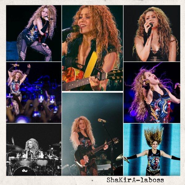Shakira : J-5 avant le début de sa tournée française ! (le 09/06/2018).