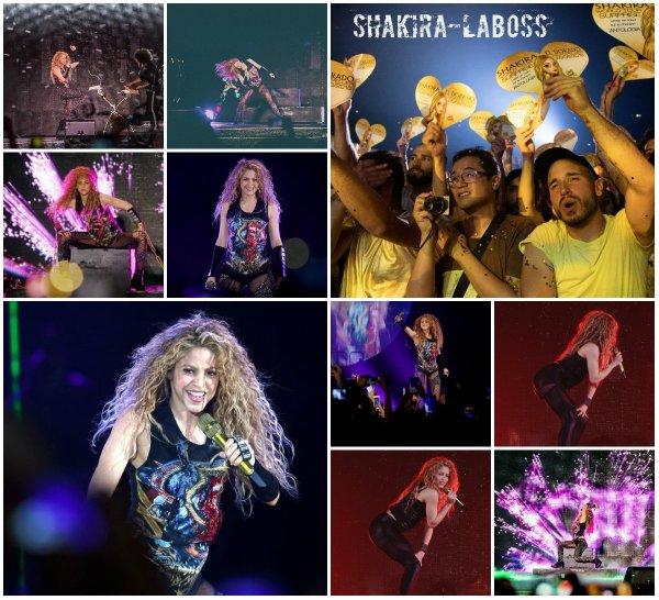 Shakira était à Montpellier, le temps d'un concert explosif ! (le 28/06/2018).