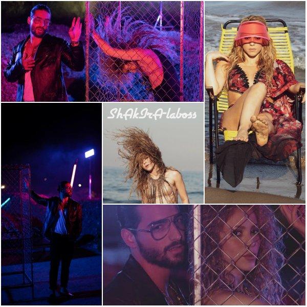 Les photos promotionnelles concernant le nouveau duo Shakira/Maluma ont floutées sur Internet ! (le 27/07/2017).