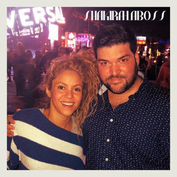 """Shakira récompensée pour son album """"El Dorado !"""" (le 18/08/2018)."""