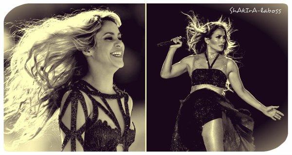 Les chanteuses Shakira et Jennifer Lopez vont faire le show de la mi-temps du super bowl américain (Le 01/10/2019).