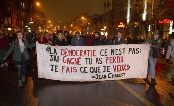 Montréal en Manifestations...