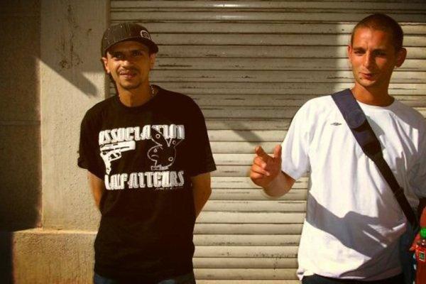 Luciano (avec un fan)