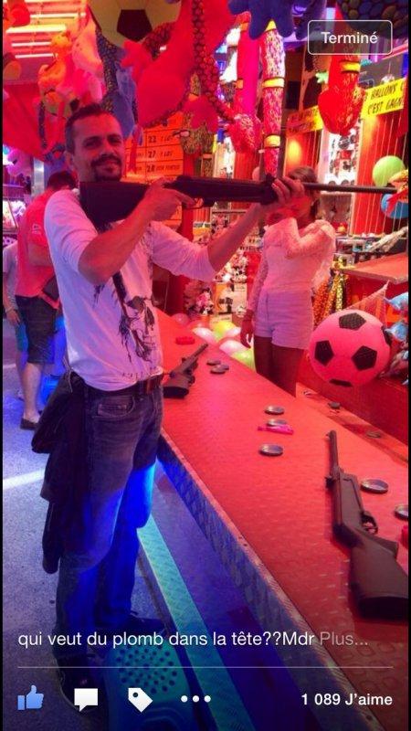 Le rat Luciano a la carabine mon pélo!